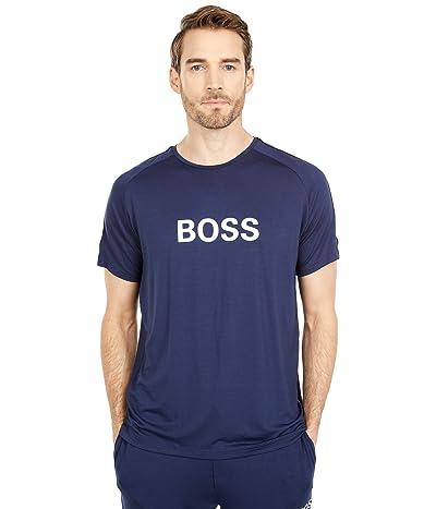 BOSS Hugo Boss Refined T-Shirt (Navy/White Detail) Men