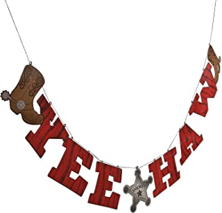 Fun Express Cowboy Yee Haw Garland Party Decoration