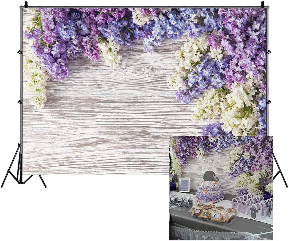 GoEoo 10x7ft Wood Backdrops for Photography Rainbow Colorful Wooden Wall Baby Shower Photo Background Indoor Decors Wallpaper Children Kids Adults Portraits Photo Studio