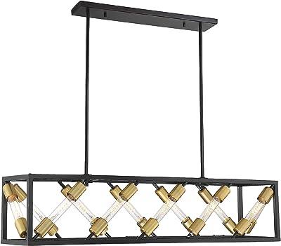 Amazon.com: Nordic Simple Lámpara de araña de tela ...