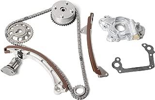 MOCA Timing Chain Kit w/VVT-i Gear w/Oil Pump compatible for 2000-2008 Toyota Corolla Celica Matrix MR2 1.8L 1ZZFE Engine
