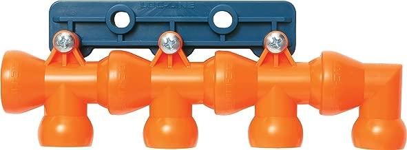 Loc-Line Coolant Hose Component, Acetal Copolymer, 8 Piece Modular Manifold Kit, 1/2
