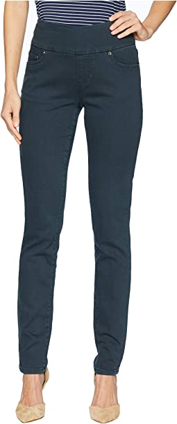 Nora Skinny Pull-On Knit Denim Jeans