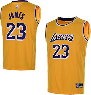 Outerstuff Youth 8-20 Los Angeles Lakers  23 LeBron James Kids Jersey 0419d2947