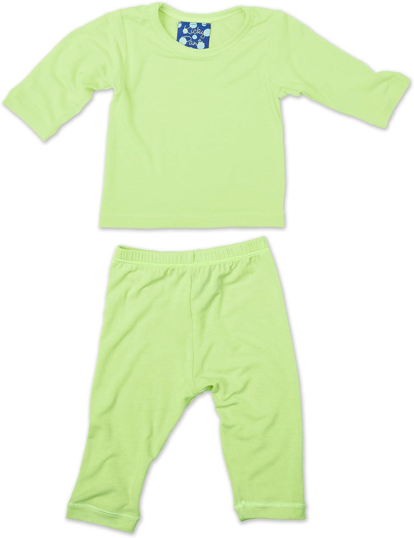 KicKee Pants Long Sleeved Pajama Set, Springgrass