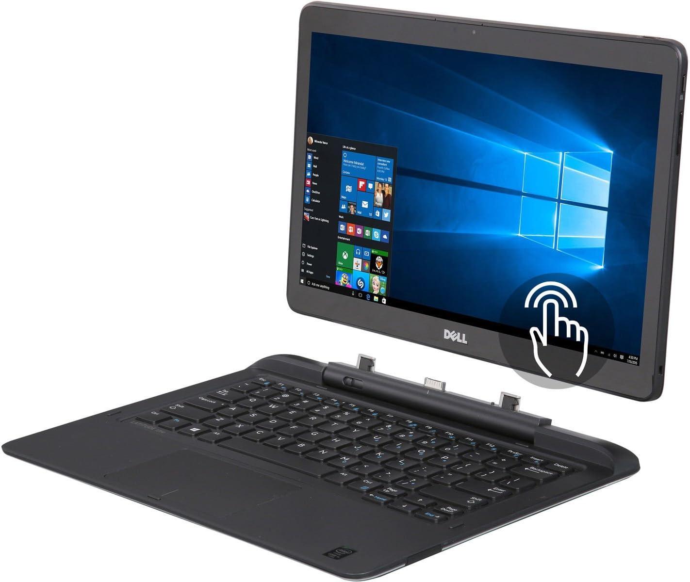Dell Latitude E7350 Laptop NoteBook Intel Quad Core M5Y71 1.2 GHz 8GB Ram 256GB Solid State SSD Windows 10 Pro (Renewed)