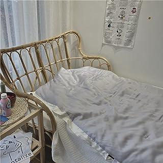 FENGCHENG Couverture D'Été Cool Tencel Couleur Unie Couleur Unie Est Cool Enfants Maternelle Adulte Maison Chambre Salon P...