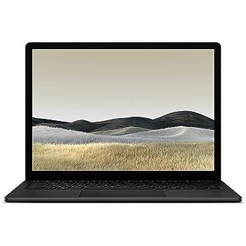 マイクロソフト Surface Laptop 3 13.5インチ/ Office H&B 2019 搭載 /第10世代 Core-i5 / 8GB / 256GB / ブラック (メタル) V4C-00039