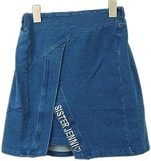 SISTER JENNI(ジェニィ) ニットデニムスカート (130-160)?92022/ブルー150