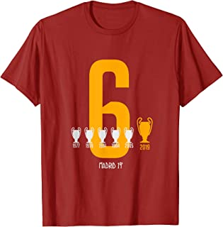 real madrid champions league winners t shirt