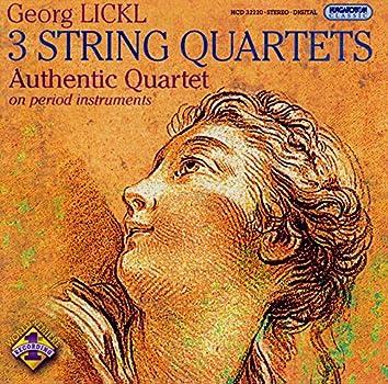 Lickl: String Quartets Nos. 1-3