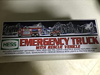 Hess 2005 Emergency Truck with Rescue Vehicle by Hess
