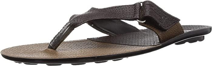 Paragon Men's Brown Thong Sandals - 8 UK/India (42 EU)(PU6717G)