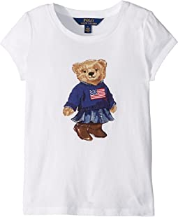 Polo Ralph Lauren Kids - Polo Bear Jersey Tee (Little Kids)