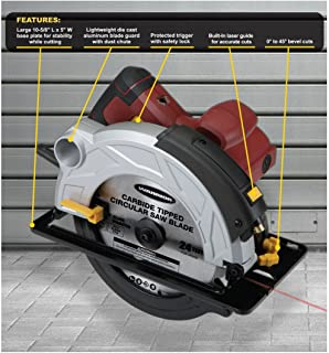 Best chicago electric 7 1/4 circular saw Reviews