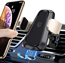 TORRAS Wireless Car Charger Mount, Auto Clamping Qi Fast Wireless Charger Car Air Vent Phone Holder Compatible with iPhone 11/11 Pro/ 11 Pro Max/Xs Max/XR/Xs, Samsung Galaxy S10/S10 Plus/Note10/10+