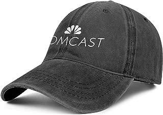 CVEWDFVFD Black Unisex Cowboy Fashion Cotton Cap Strapback Running Denim Hats