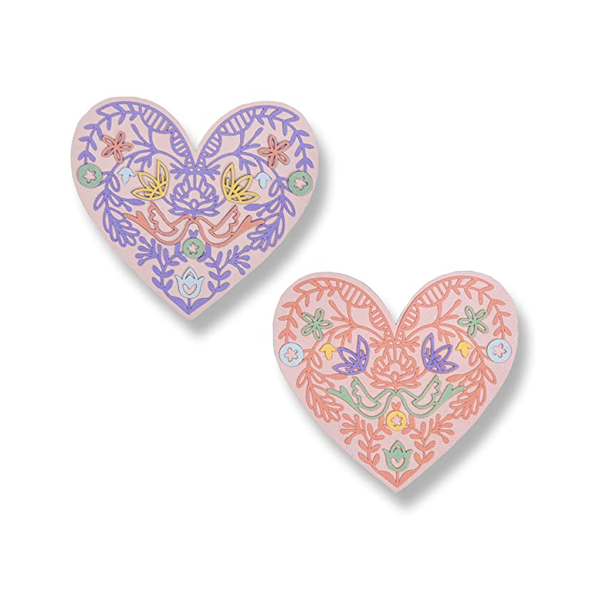 Sizzix 663582 Lace Heart Dies, One Size, Multicolor