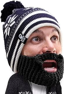 Beard Head Stubble Bumper Beard Beanie - Funny Winter Hat and Fake Beard