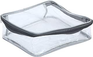 DIVYANA® Multi Purpose Transparent Handkerchief/Shawl/Socks/Cosmetics/Jewellery/Toiletry/Medicine/Stationery/Clothes Cover Organizer - Combo Set of 2 Pcs