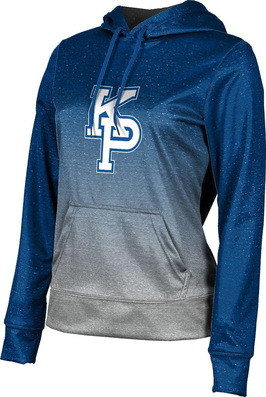 United States Merchant Marine Academy University Girls' Pullover Hoodie, School Spirit Sweatshirt (Ombre)