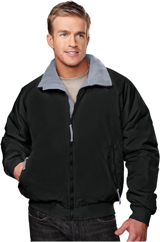 Tri-Mountain Men's 8800 Mountaineer Three Season Jacket Black/Gray