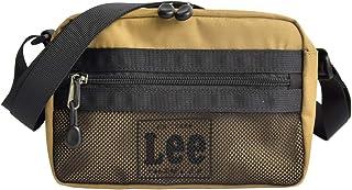 [リー] Lee ショルダーバッグ メッシュ ロゴ 黒 ショルダー サコッシュ リー レディース メンズ ワンショルダー ボディバッグ 通勤 通学 メンズ 斜めがけ