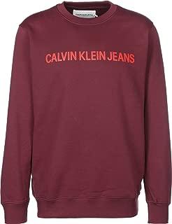 Calvin Klein Men's J30J307758-Red Sweatshirts
