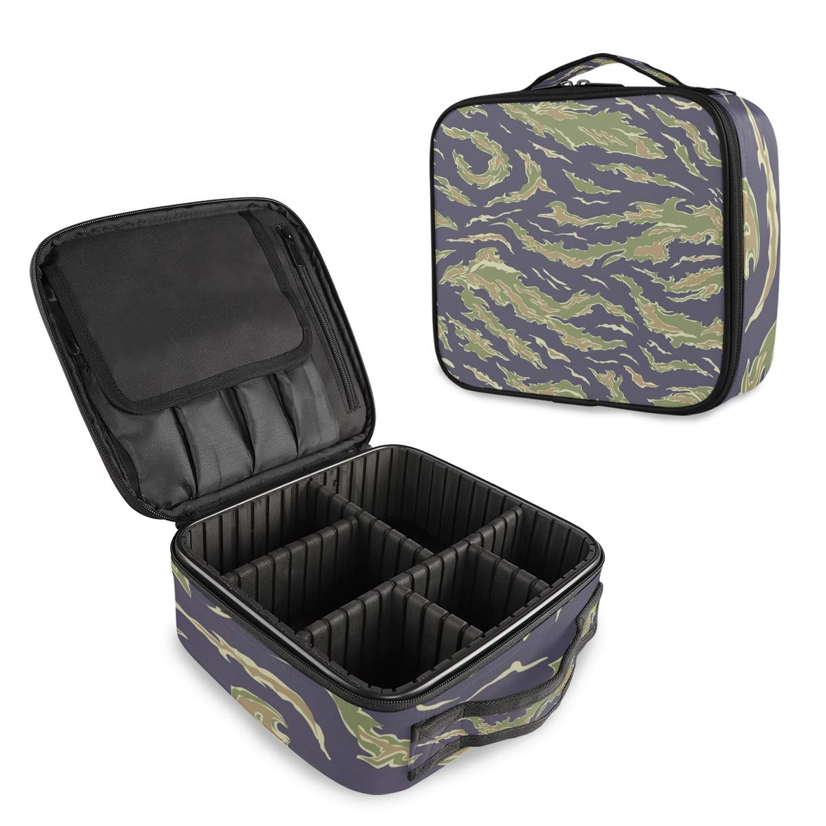 Al sold out. Army Camouflage Travel Makeup San Diego Mall Portable Bag Organizer Trai
