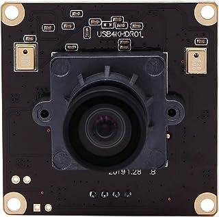 4K USB Camera Sony IMX317 Image Sensor Webcam for Windows Mac Android Linux (100 Degree No Distortion Lens)