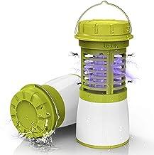 RUNACC Mosquito Killer Lamp Bug Zapper Camping Lantaarn LED USB Oplaadbare Zaklamp met 2200mAh Oplaadbare Batterij, IP65 W...