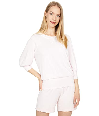 LAmade Charming Puff Sleeve Pullover in Soft French Terry