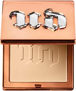 Urban Decay Stay Naked The Fix Powder Foundation, 40WY - Matte Finish Lasts Up To 16 Hours - Water & Sweat-Resistant - Com...