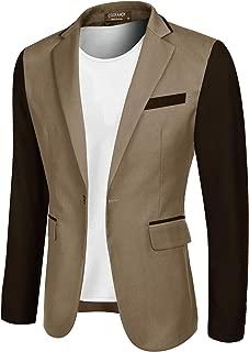 COOFANDY Men's Suit Jacket Slim Fit Casual One Button Blazer Jacket