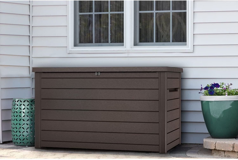 Keter XXL 230 Gallon Plastic Box Very popular! Storage Container half Outdoor Deck