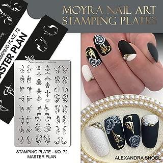 MOYRA Stamping plate No 72