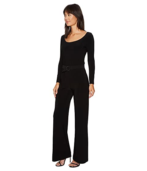 KAMALIKULTURE Belt by Jumpsuit with Scoop Mid Kamali Neck Norma 84wqOx8rg