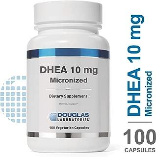 Douglas Laboratories - DHEA 10 mg - Micronized to Support Immunity, Brain, Bones, Metabolism and Lean Body Mass* - 100 Capsules