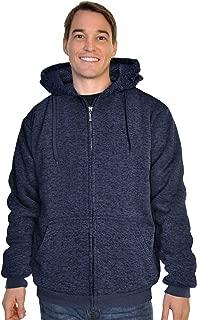 Espada Menswear Full-Zip Sherpa-Lined Hoodie Jacket