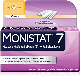 Monistat 7-Day Yeast Infection Treatment | Cream with Disposable Applicators