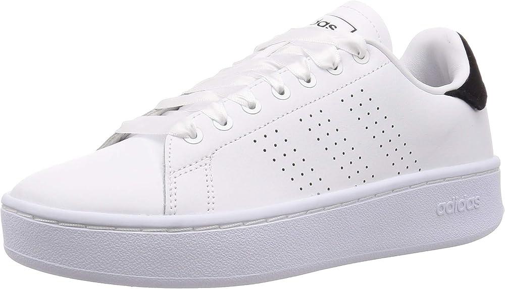 Adidas advantage bold, scarpe da sneakers da  donna in pelle EF1034