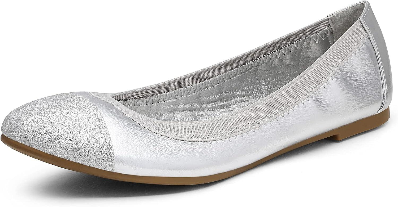 DREAM El Paso Mall PAIRS Women's Sole-Flex Regular store Shoes Ballerina Walking Flats