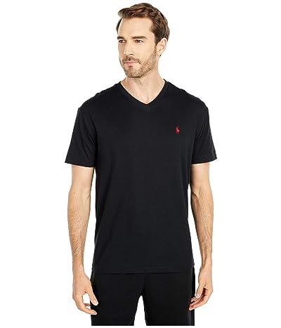 Polo Ralph Lauren Classic Fit V-Neck T-Shirt (RL Black) Men