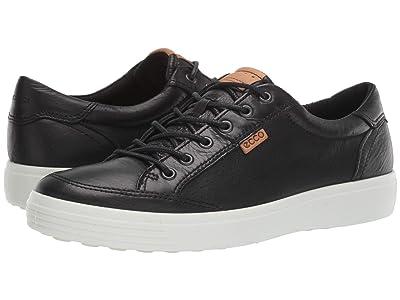 ECCO Soft 7 Light Sneaker (Black) Men