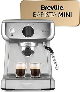 Breville Mini VCF125X - Barista máquina de café expreso,