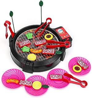 مجموعة أدوات مطبخ للشواء والطهي للأطفال من جينيريك