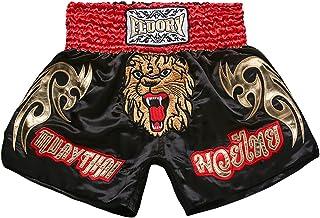 Boxeur du Fight Activewear Short car Boxer Pantalon Rouge//Blanc XL