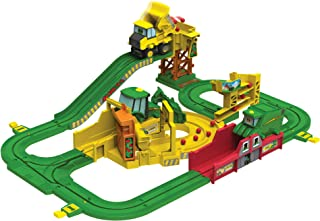 John Deere Big Loader Motorized Toy Train Set with Tractor & Magical Farm