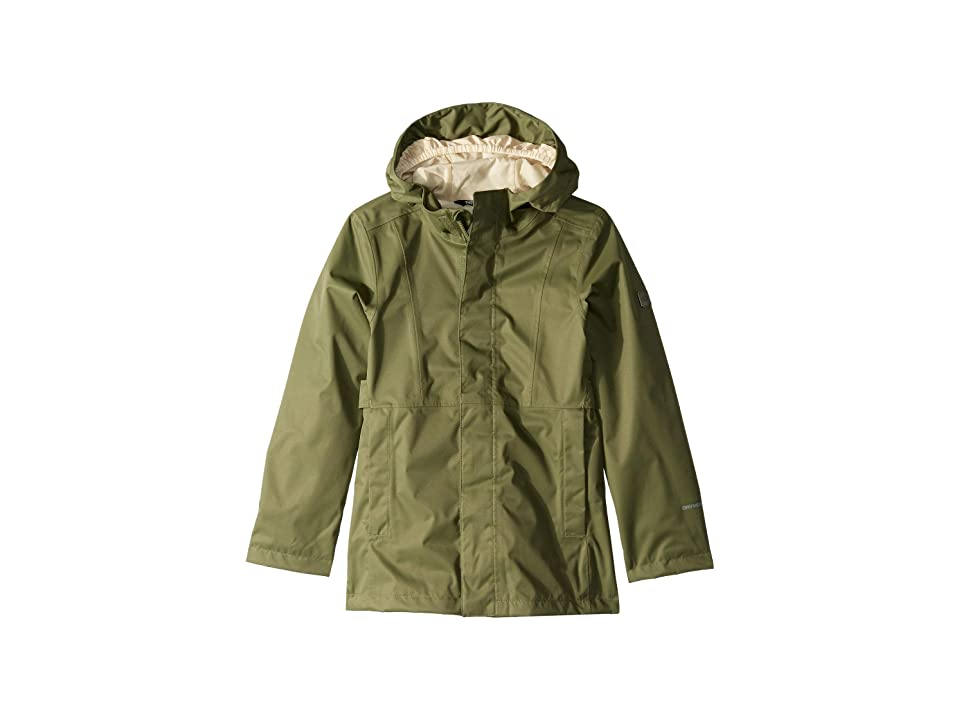 The North Face Kids Laney Rain Jacket (Little Kids/Big Kids) (Four Leaf Clover) Girl