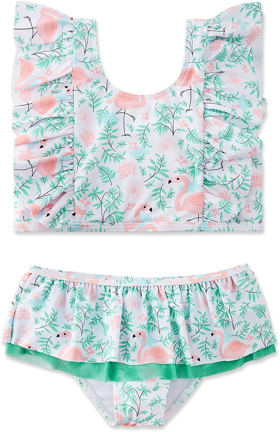 Choice swimsobo Toddler Girls Swimsuits Two-Pieces Sleeve Flutter price Bathi